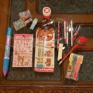 Kawaii Stationery Set